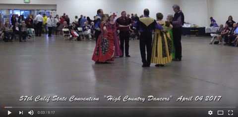 High Country Dancers at the 57th California State Convention